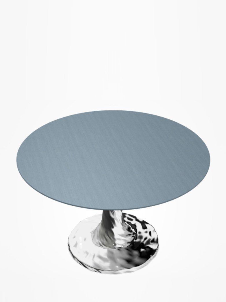 Next 132 Round Table – Blue – Ø120