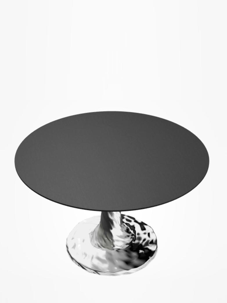Next 132 Round Table – Black – Ø120