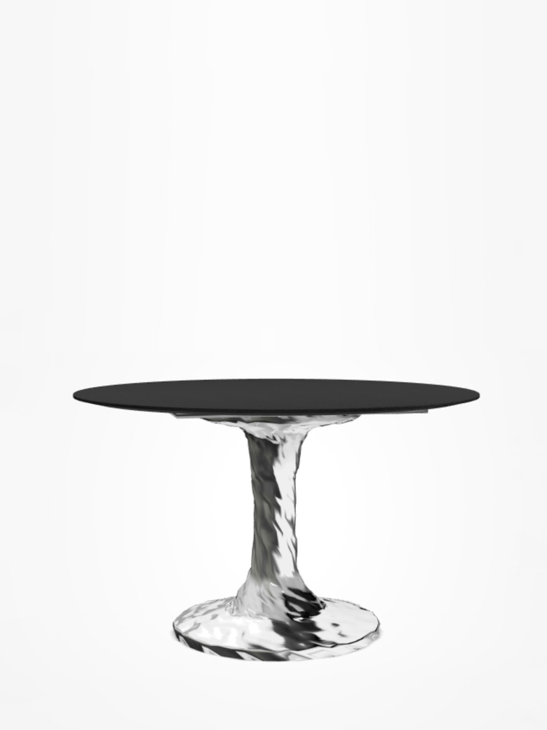 Next 132 Round Table – Black – Ø120