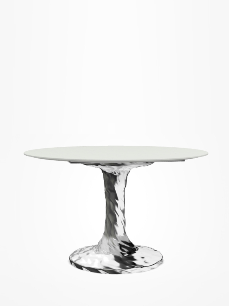Next 136 Round Table – White – Ø140