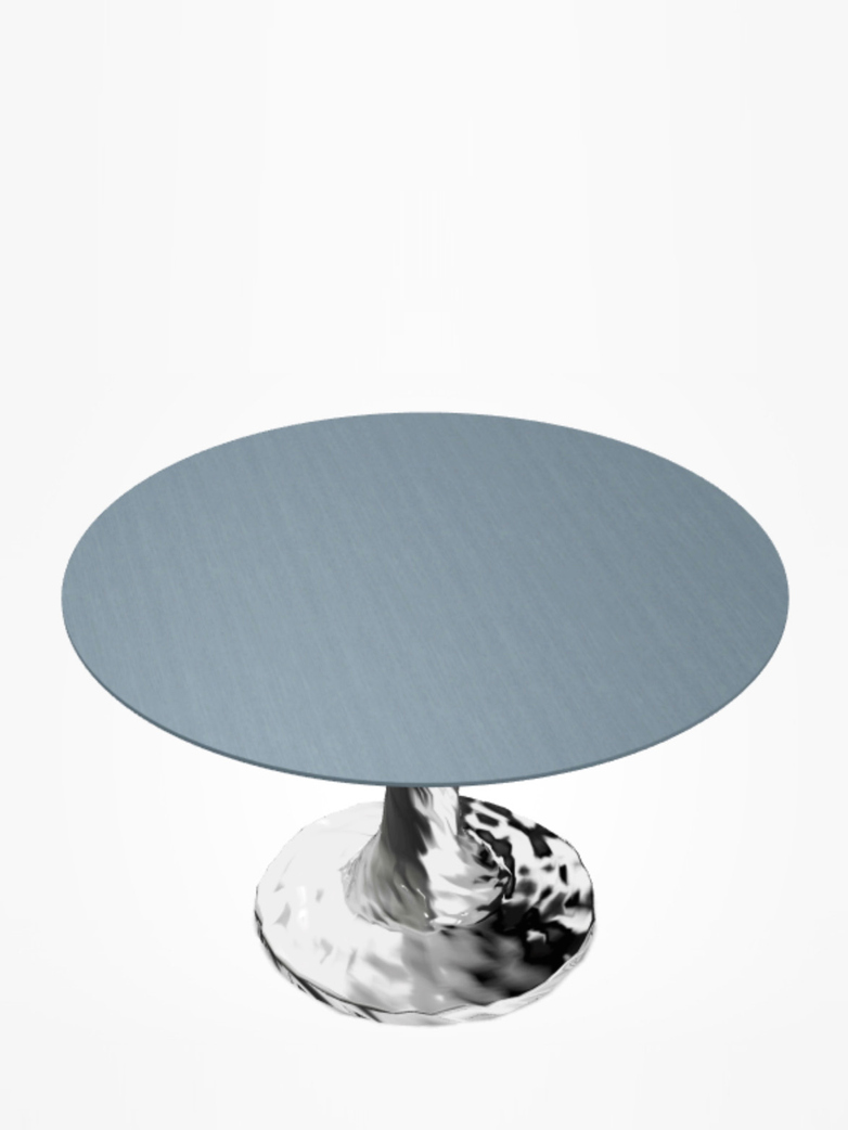 Next 136 Round Table – Blue – Ø140