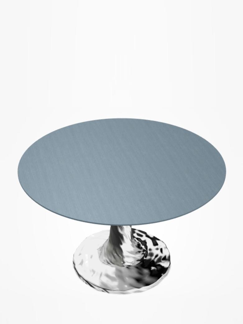 Next 136 Round Table – Blue – Ø140