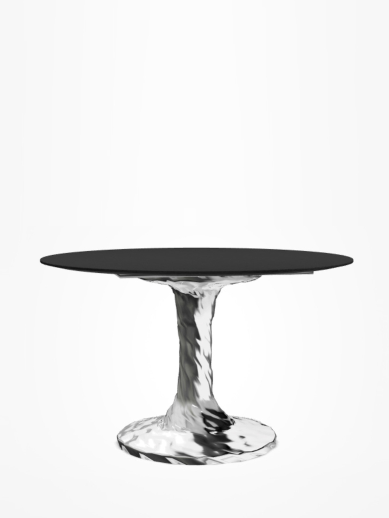 Next 136 Round Table – Black – Ø140