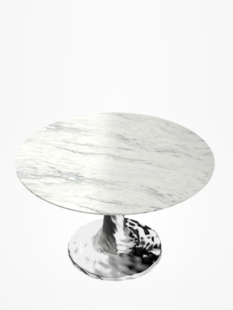 Next 136 Round Table – Marble – Ø140