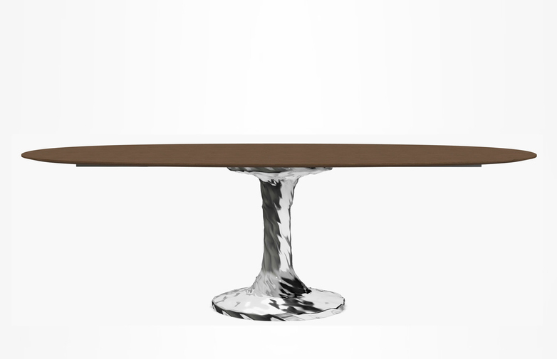 Next 137 Oval Table – Natural – 240 cm