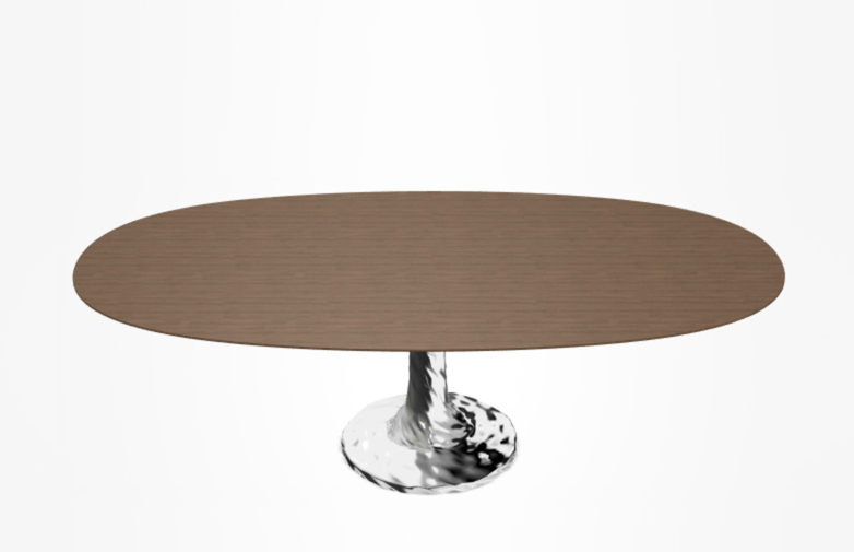 Next 138, Oval Table, natural 200