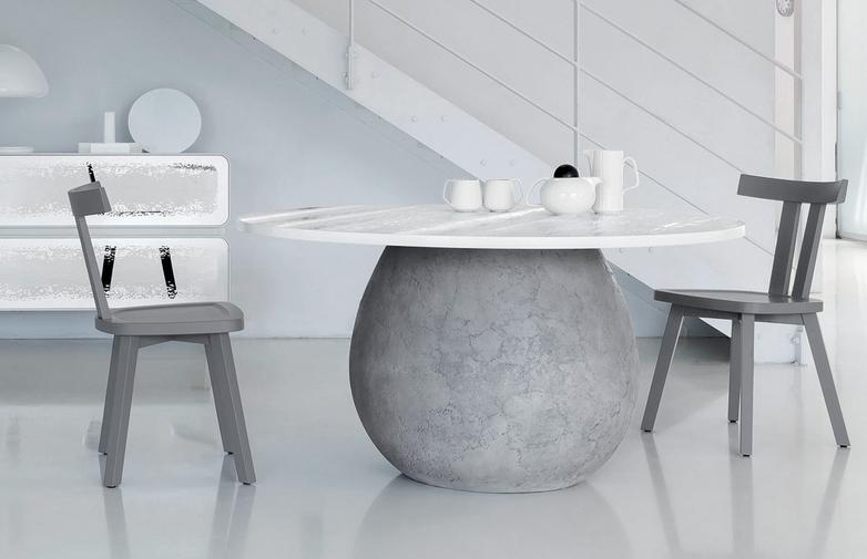 Next 236 Round Table – Glossy Grey – Ø160
