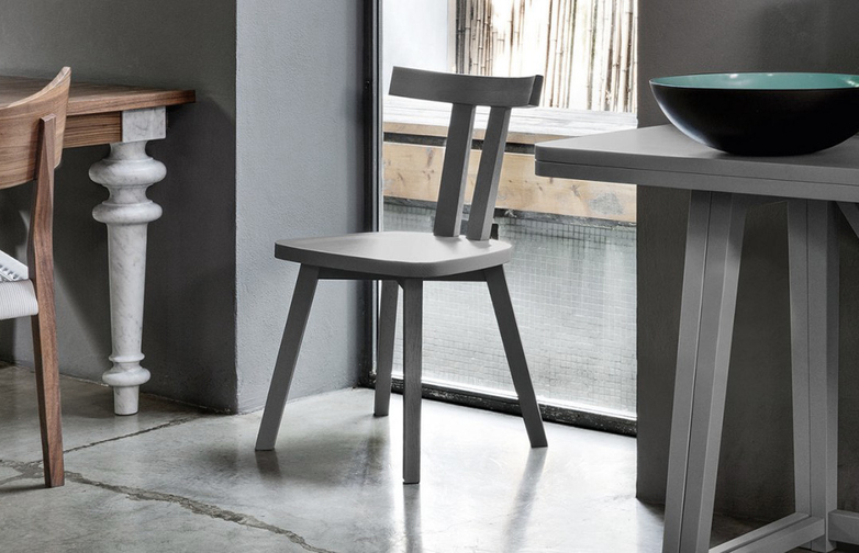 Gray 23 Chair – Walnut