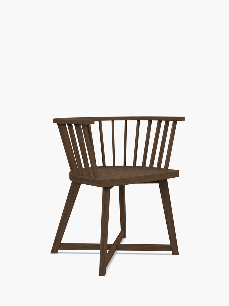 Gray 24 Chair – Walnut