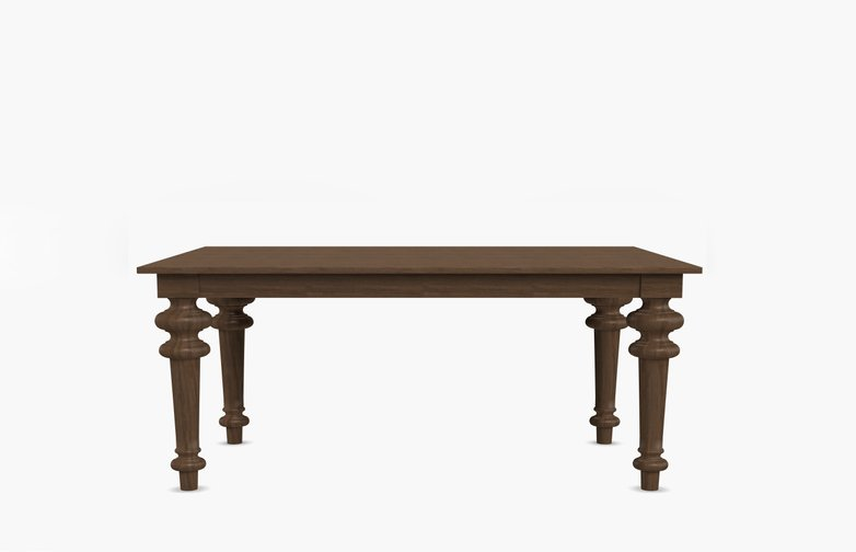Gray 32 Square Table – Walnut – 140