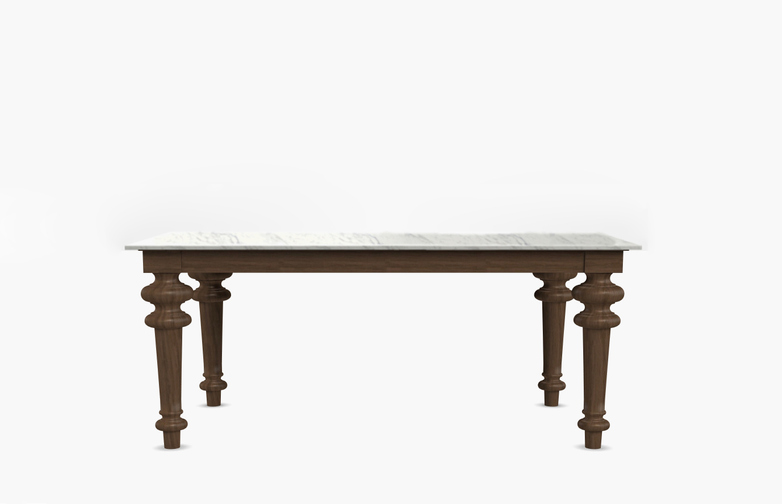 Gray 32 Square Table – Marble – 140