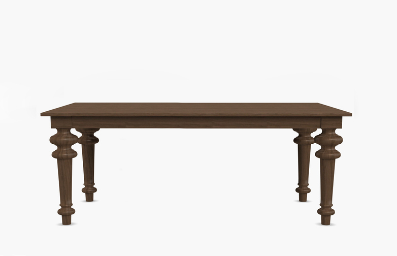 Gray 33 Rectangular Table – Walnut – 240