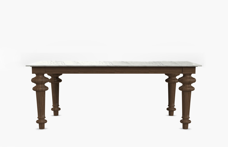Gray 33 Rectangular Table – Marble – 240