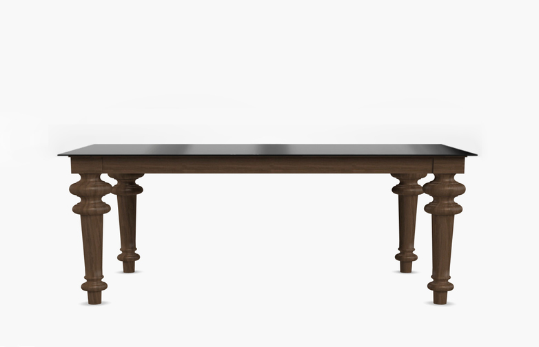 Gray 33 Rectangular Table – Iron – 240