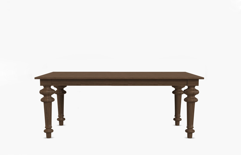 Gray 34 Rectangular Table – Walnut – 180