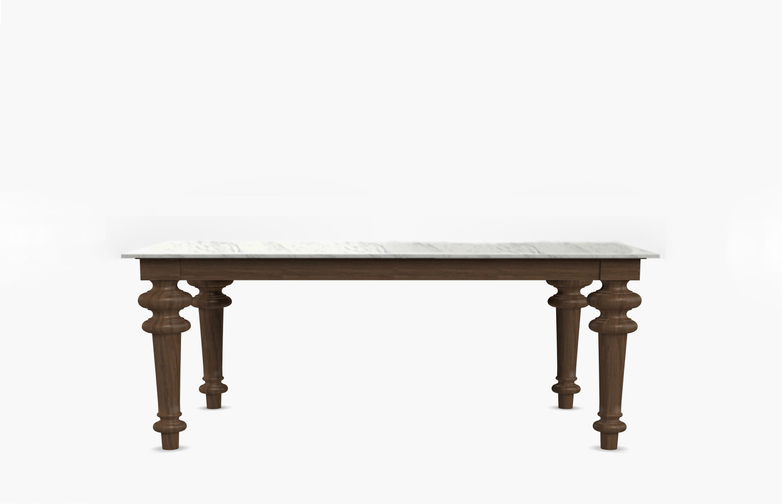 Gray 34 Rectangular Table – Marble – Marble – 180