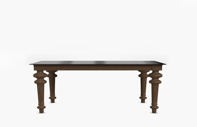 Gray 34 Rectangular Table – Iron – 180