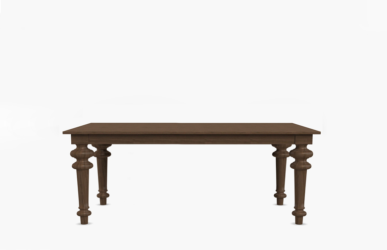 Gray 35 Rectangular Table – Walnut – 160