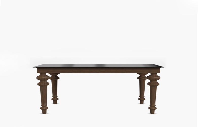 Gray 35 Rectangular Table – Iron – 160