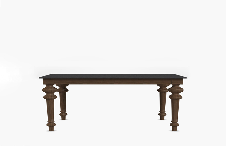 Gray 35 Rectangular Table – Slate – 160