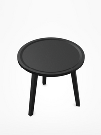 Gray 41 Tea Table – Black – Ø70