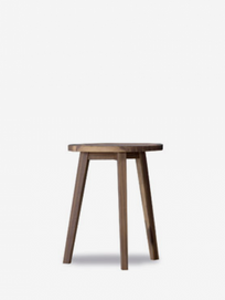 Gray 44 Side Table – Walnut – Ø50