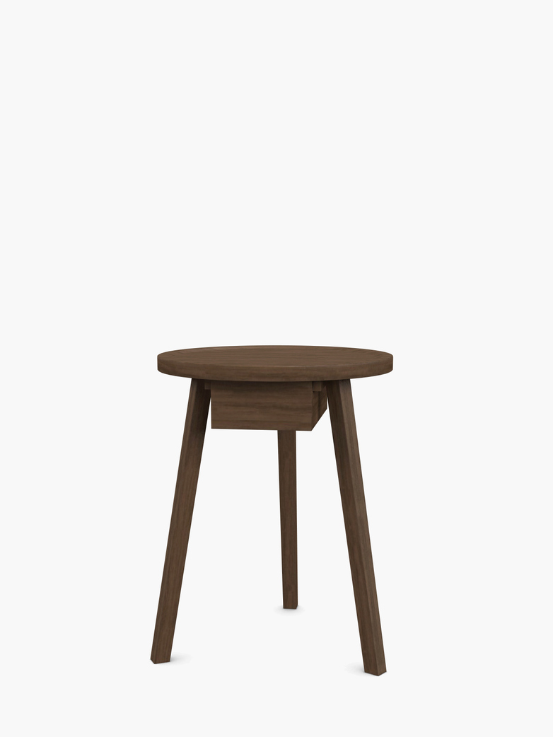 Gray 45 Side Table – Walnut
