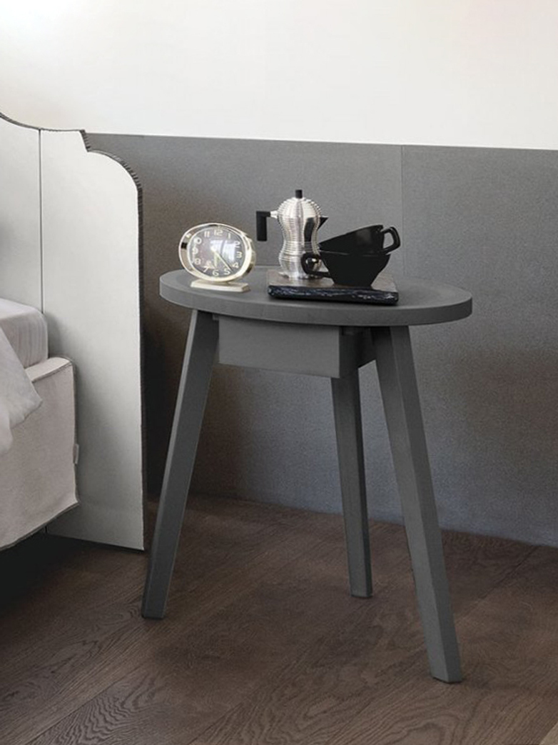 Gray 45 Side Table – Grey