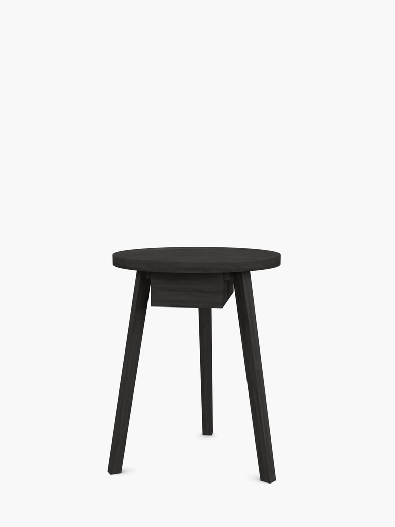 Gray 45 Side Table – Black