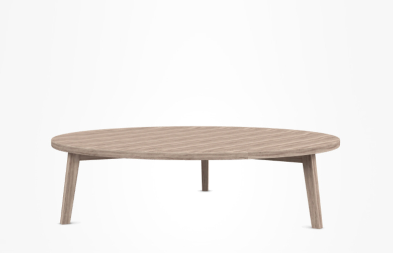 Gray 46 Coffee Table – Oak – Ø130