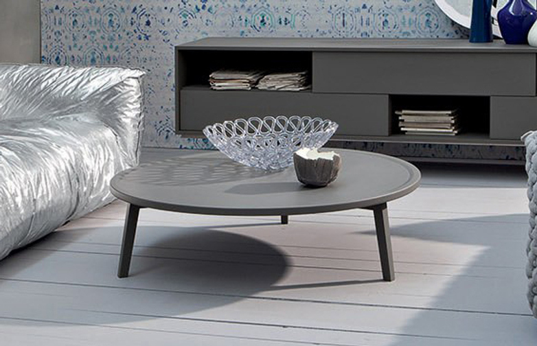 Gray 46 Coffee Table – Grey – Ø130