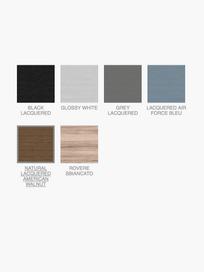 Gray 46 Coffee Table – Black – Ø130