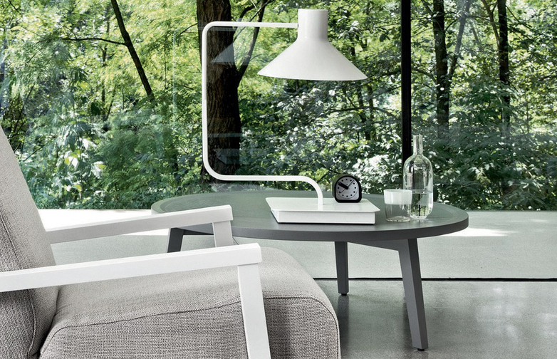 Gray 49 Coffee Table – Grey – Ø100