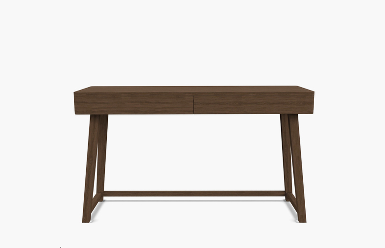 Gray 50 Writing Desk – Walnut