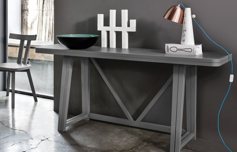 Gray 51 Console Table – Grey