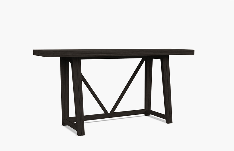 Gray 51 Console Table – Black