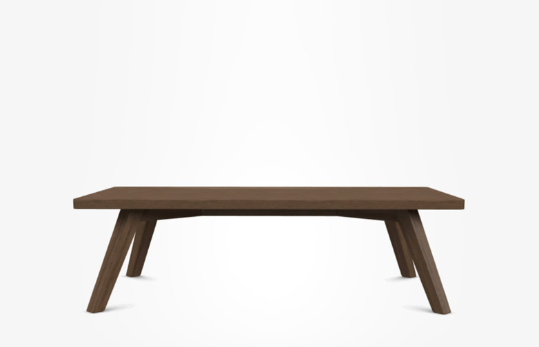 Gray 57 Coffee Table – Walnut – 120