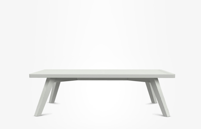 Gray 57 Coffee Table – White – 120