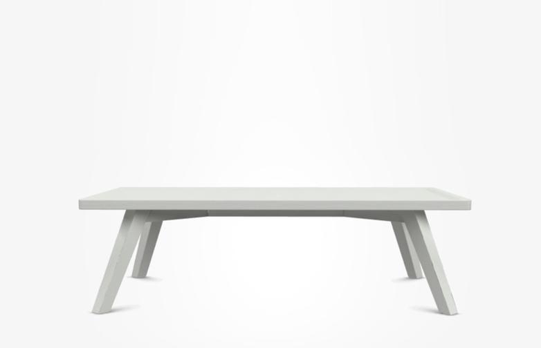 Gray 57 Coffee Table Black