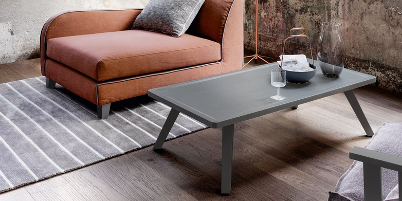 Gray 57 Coffee Table – Grey – 120