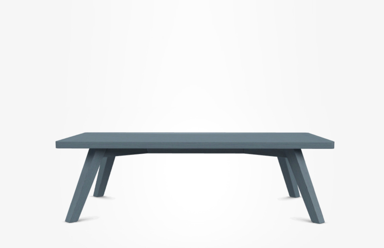 Gray 57 Coffee Table – Blue – 120