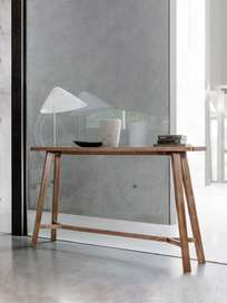 Gray 61 Console Table – Walnut