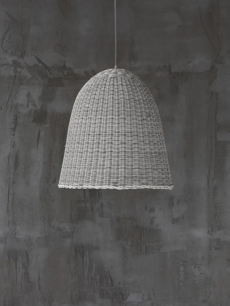 Bell 95 Hanging Lamp – White