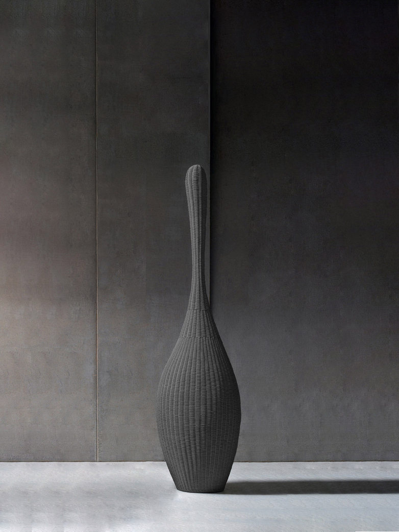 Bolla S Standing Lamp – Grey