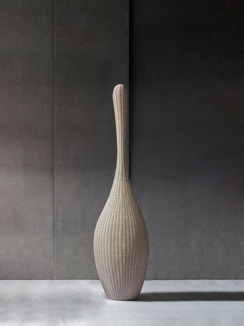 Bolla M Standing Lamp – Natural Rattan