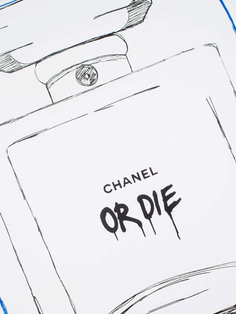 Chanel White – 40 x 50 – Oliw87