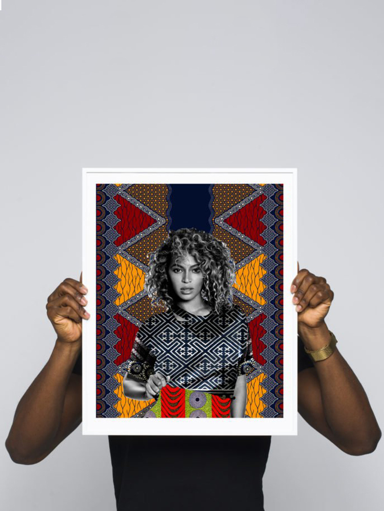 Bey (Beyoncé) – 40 x 50 – Makeba KEEBS Rainey
