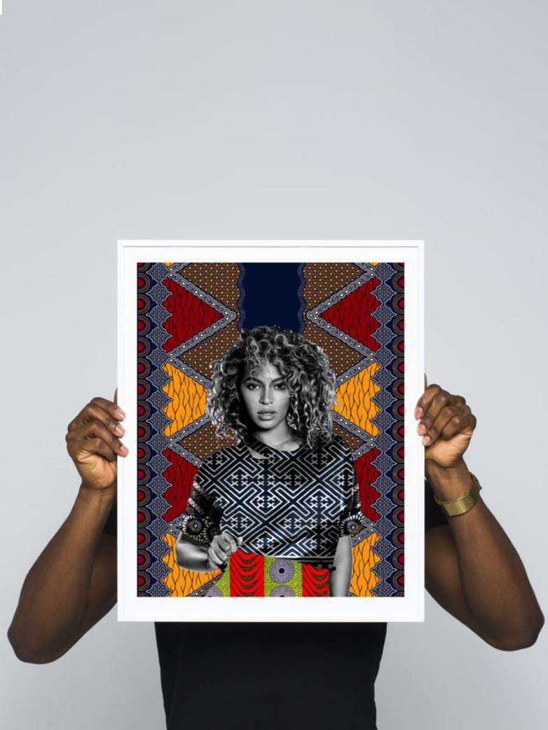 Bey (Beyoncé) – 40 x 50 – Makeba KEEBS Rainey