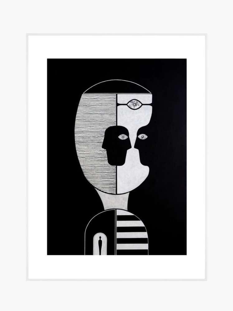 Untitled (Black Reverse Portrait) – 95 x 130 10 620 SEK