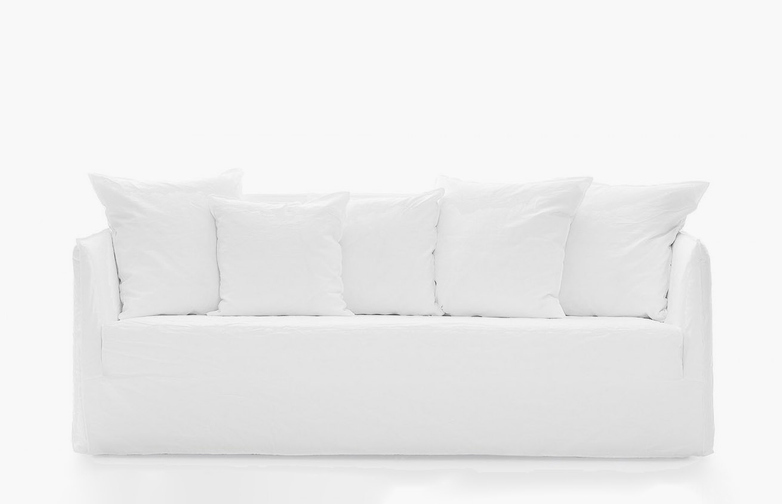 Ghost 10 G Sofa – Category B – Natural Lino Bianco
